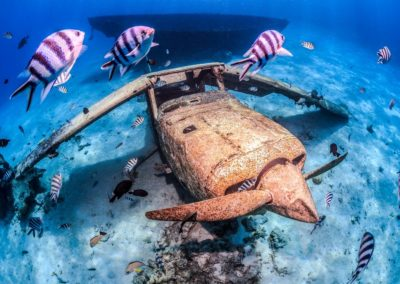 Plongée aux épaves à Tahiti avec Topdive