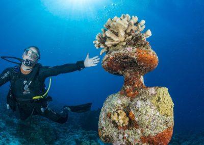 Découverte de la plongée en Polynésie avec Topdive